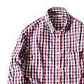 定番だからこそ着こなしたい。チェックシャツの選び方&コーデ