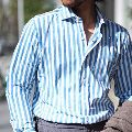 イタリアのエレガンスを纏う。オリアンのシャツでオンもオフも品良く