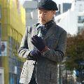 冬のジャケパンは、ツイードジャケットで着こなそう!