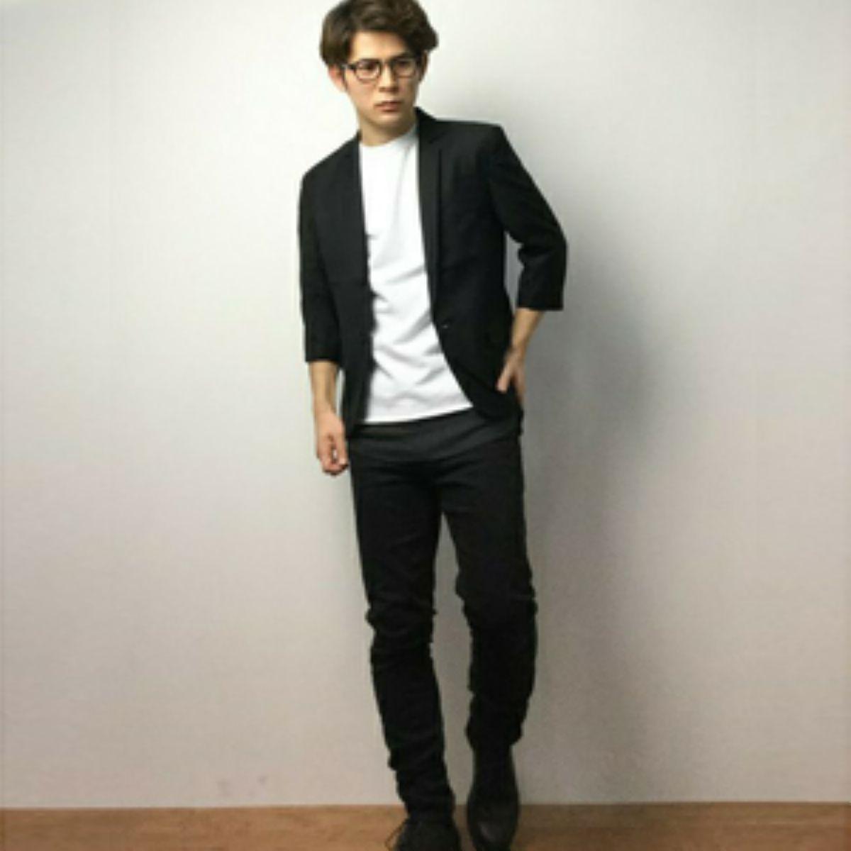 背が低い ファッション メンズ