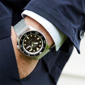 新生セイコー5スポーツが示す、機械式時計のニュースタンダード