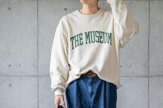 スウェットシャツで作る秋冬コーデ。王道トップスの今季の着回し方を考えてみる