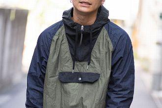 アノラックパーカーに注目を。人気ブランド&着こなしのコツを解説