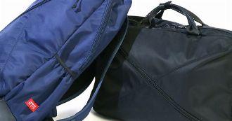 注目度上昇中。サムソナイトレッドのバッグが都市生活には必要だ