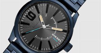 挑戦し続ける腕時計。ディーゼルウォッチのデザインに酔う