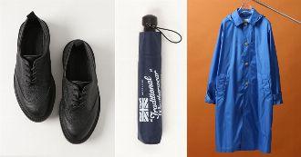 傘、レインブーツが優秀。トラディショナルウェザーウェアの雨アイテム10選