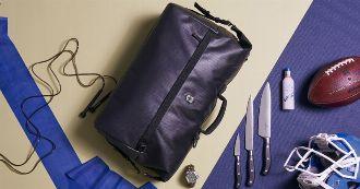 """ナイフだけじゃなく、バッグも""""マルチ""""。才色兼備なバッグで街へ山へ"""
