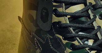 60周年はコラボで再構築。名作ブーツに潜む猿の軍団