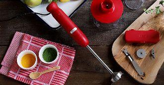 ハンドブレンダーは強力なキッチンツール。使えば料理の幅がグンと広がる