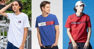 漂うほのかなトラッド感。トミーヒルフィガーのTシャツが大人の夏に効く