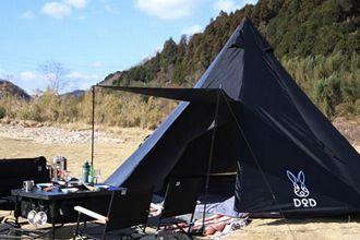 今、フィールドで目立てるDODのテント。ニーズ別におすすめ9モデルを厳選