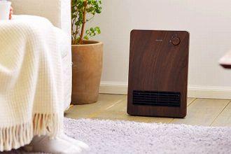 スポット暖房に最適。セラミックファンヒーターがあれば、部屋が効率的に暖まる