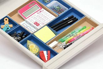 使い勝手も見た目もスマートな文房具収納20選。整理整頓で仕事効率アップ!