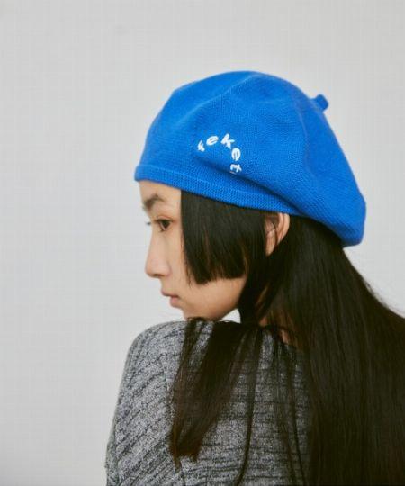 『ニューヨークハット』別注 スエード ベレー帽