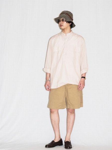 ▼気温25度~29度の夏コーデ編 -半袖×フルレングスパンツのシンプルコーデの味付けに- 4枚目の画像