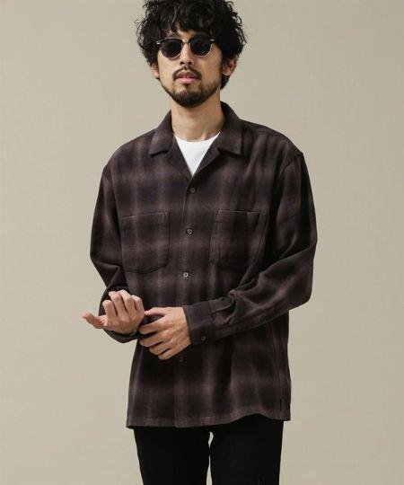 『アラスカン』×『ナノ・ユニバース』別注オンブレーネルシャツ
