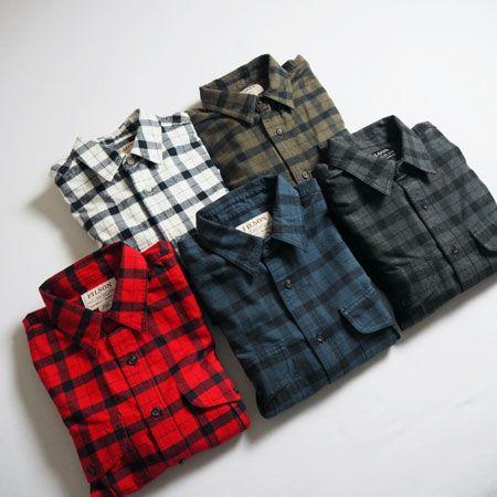 『フィルソン』アラスカンガイドシャツ