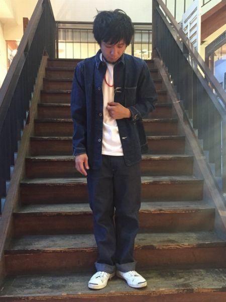 『コンバース』ジャックパーセルを履いたお手本コーデ 4枚目の画像