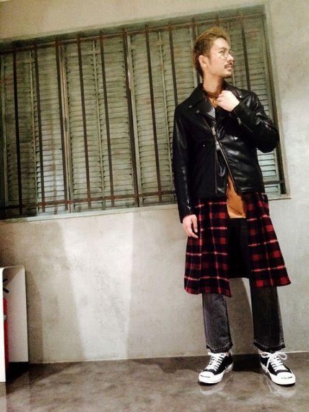 『コンバース』ジャックパーセルを履いたお手本コーデ 2枚目の画像