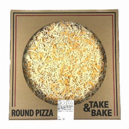 丸型ピザ 5色チーズ