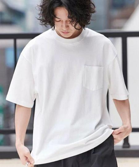 白Tシャツこそ、メンズファッションの永世定番