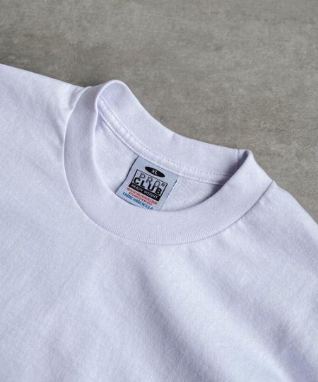 しっかりとしたヘビーオンスの白Tシャツ