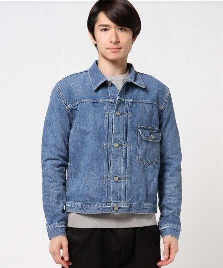 デニム 1st ジャケット