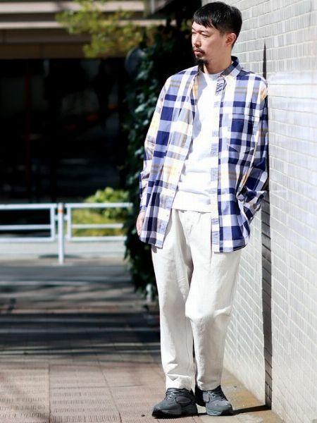 ホワイトデニム攻略の鍵は、清涼感のある着こなしにまとめること 2枚目の画像