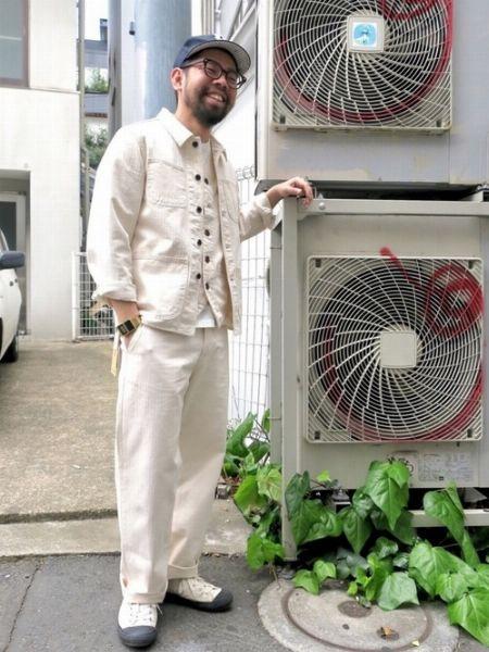 ホワイトデニム攻略の鍵は、清涼感のある着こなしにまとめること 3枚目の画像