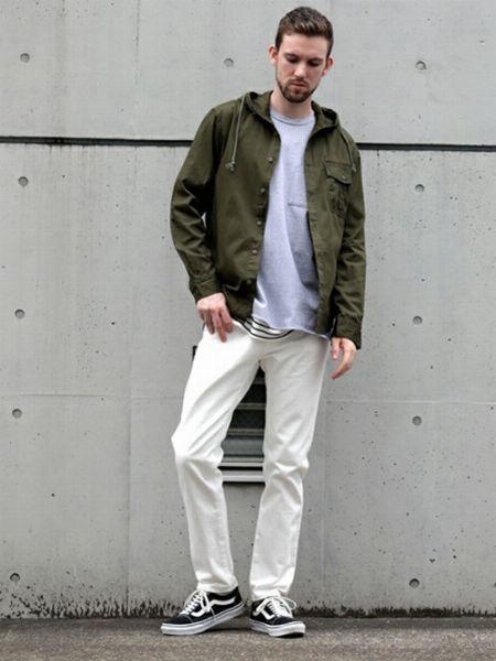 ホワイトデニム攻略の鍵は、清涼感のある着こなしにまとめること 5枚目の画像