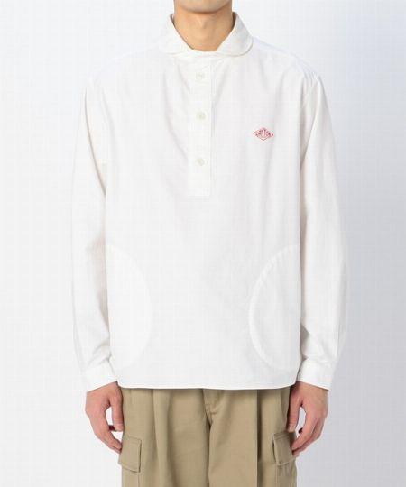 『ダントン』丸襟プルオーバーシャツ