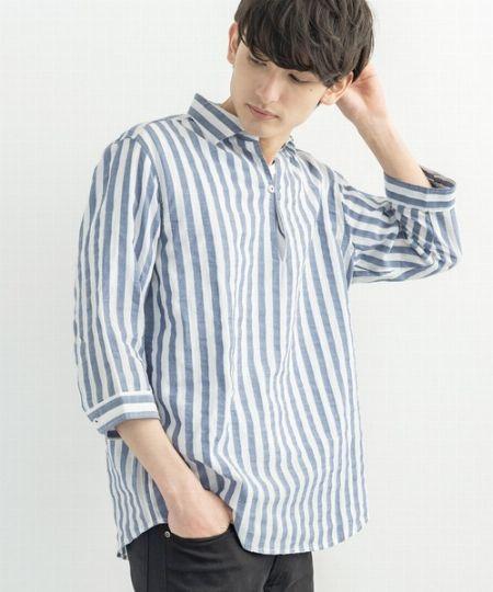 プルオーバーシャツの魅力とは?