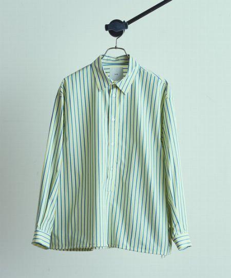 『ルイス』コード付ストライププルオーバーシャツ