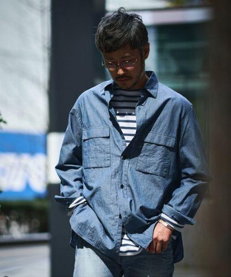 """シャンブレーとデニムの違いは""""織り方""""!"""
