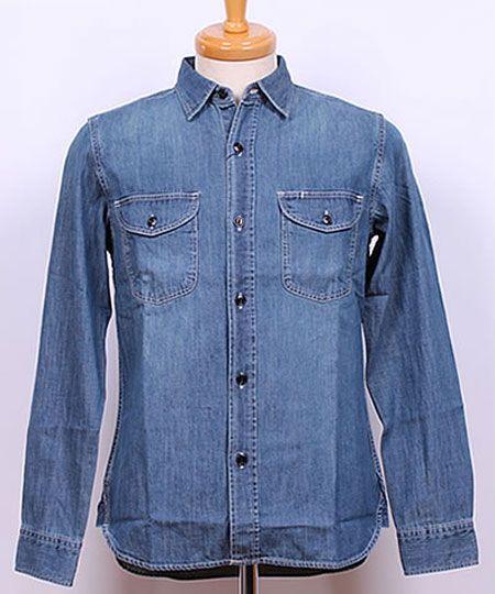 デニムワークシャツ:『リー』