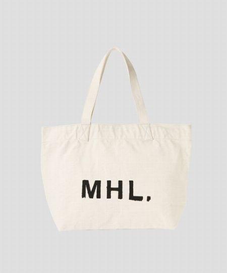 『MHL.』 HEAVY COTTON CANVAS