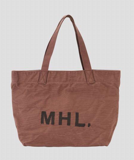 『MHL.』ヘビーコットンキャンバストート