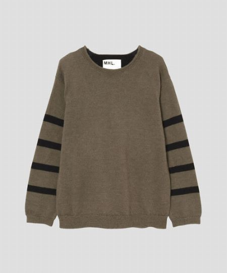 『MHL.』ドライラフウール セーター