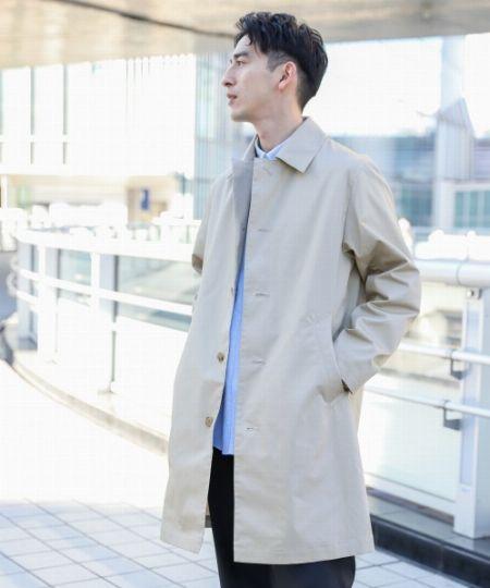 ステンカラーコートが男のワードローブに欠かせない理由