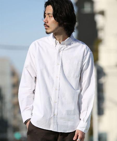 休日に着るボタンダウンシャツ選び。ポイントはサイズ感・カラー・素材
