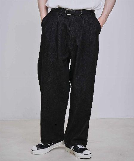 『エマクローズ』ステッチデニム カバーオール&バギーパンツ 2枚目の画像