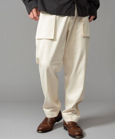 『ニコアンド』デニム ワイドウエスタンシャツ&ペインターパンツ 2枚目の画像