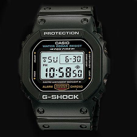 『カシオ』Gショック DW-5600E-1V スピード