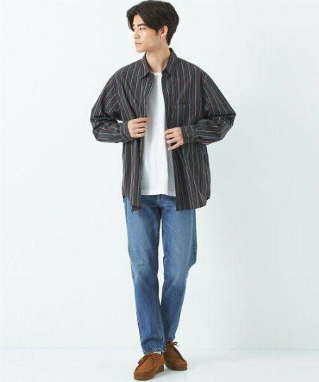 """大人がおしゃれにジーンズを着こなすならば、没個性も、""""やりすぎ""""もNGです"""