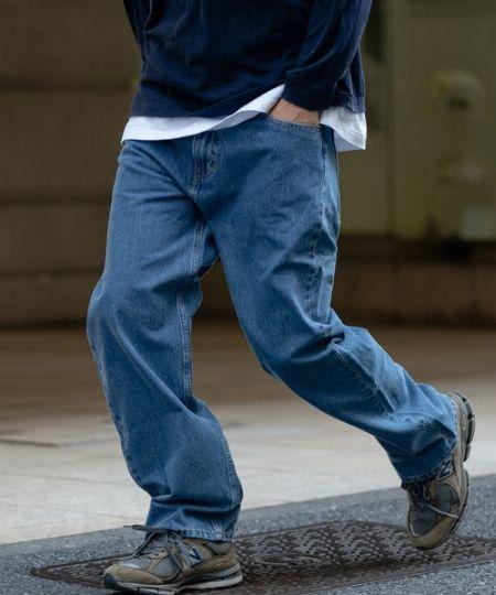 アメカジファッションといえば、やっぱりジーンズ