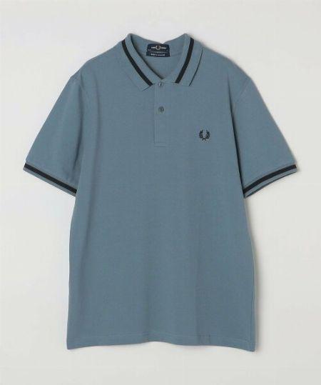 『ビームス』別注カッタウェイポロシャツ
