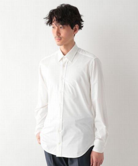『グローバルワーク』ニットシャツ