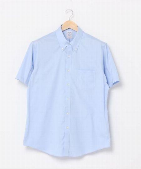 『ブルックス ブザーズ』ショートスリーブドレスシャツ