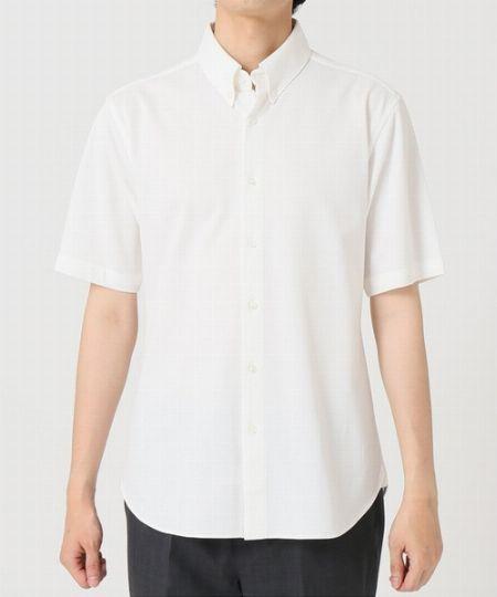 『エディフィス』クールマックス フルオープン 鹿の子ポロシャツ