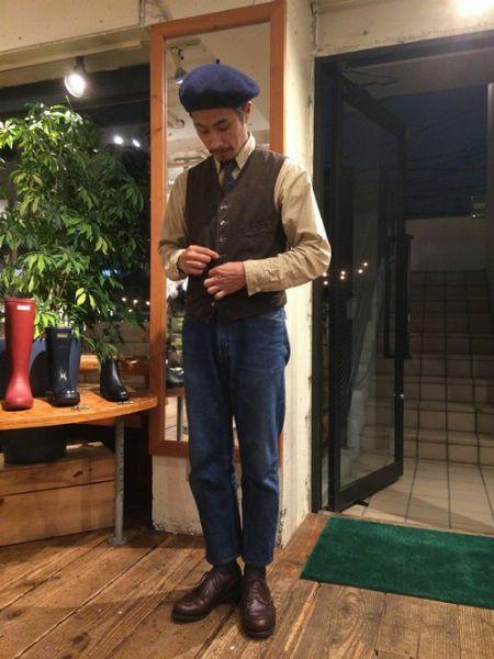 デイリーに履ける革靴を使ったコーデサンプル 2枚目の画像